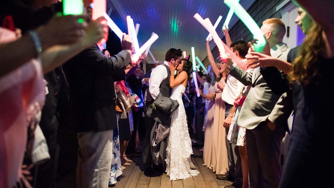 Glowing Stick Wedding Send Off